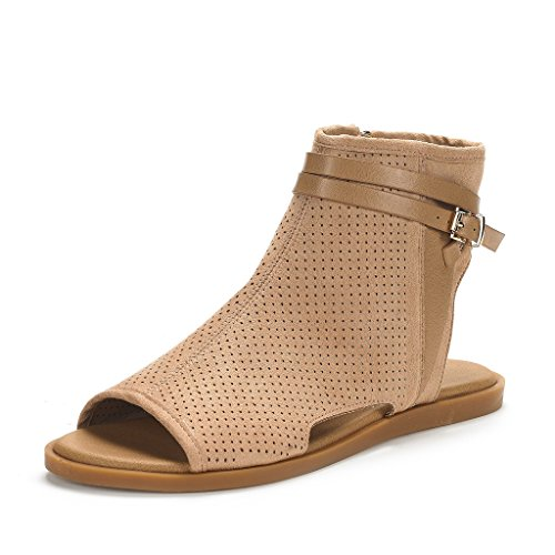 DREAM-PAIRS-Womens-RUULE-Open-Toe-Flat-Sandals