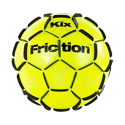 The Kixsports KixFriction soccer ball – #1 Selling Patented Soccer Training Ball – Awesome Street Soccer Ball – Marvel of Design & Craftsmanship – DiZiSports Store