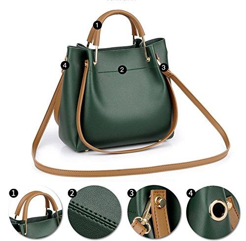 Handbag Bag Satchel green SJMMBB Bag Bag Bag Bucket Women'S Shoulder Tfqx8HEw