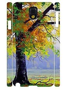 Simple Custom Retro Trees Pattern Eco TPU Phone Protective Case for Samsung Galaxy Note 3 N9005 Kimberly Kurzendoerfer