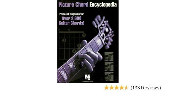 Picture Chord Encyclopedia: Photos & Diagrams for 2, 600 Guitar ...