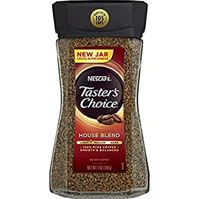 Nescafe Taster's Choice House Blend Instant Coffee, 7 Ounce (Pack of 2) from Nescafe