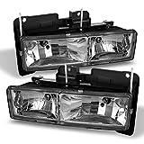 96 chevy 1500 headlight bulbs - Chevy C/K 1500/2500/3500 Tahoe Suburban Silverado Full Size C10 Headlights LH/RH Chrome Headlight