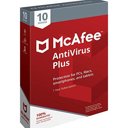 McAfee Antivirus 2018 10-Device Avoid Risky websites