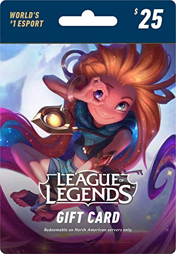 League of Legends $25 Gift Card - 3500 Riot Points - NA Server Only [Online Game - Point Icon