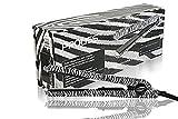 Proliss Infusion Ceramic Iconic Styler Hair Straightener (White Zebra)