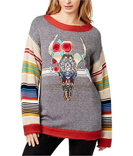 Free People Women's Desert Rose Sweater Multi M