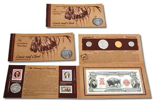2004 D P Lewis And Clark Coinage and Currency Uncirculated