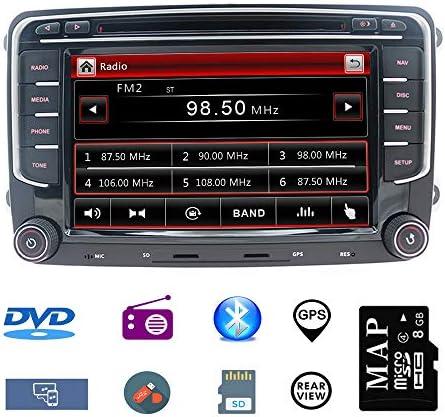 Stereo Home 7 Zoll 2 Din Autoradio Naviceiver Für Vw Elektronik
