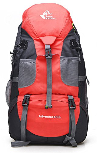 Sac Randonnée Alpinisme Pour Dos Camping Voyage Trekking Ultraléger Sports Léger Rouge A Loisir Imperméable A Dos Sac Cyclisme Respirant 50L dxt1Oqd