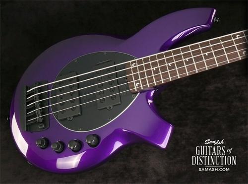 Ernie Ball Music Man Bongo 5 HH - Firemist - Guitar Bass Bongo