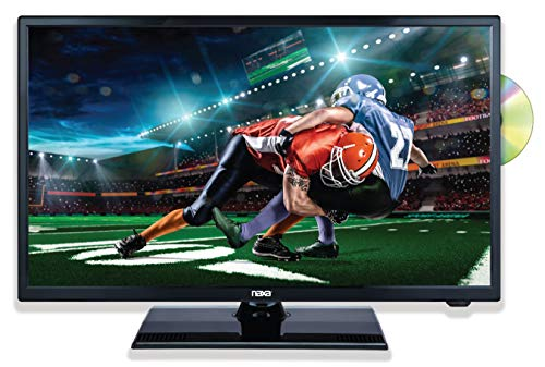 Naxa Electronics LED Widescreen FHD Television with DVD Player, 22″, NTD-2257
