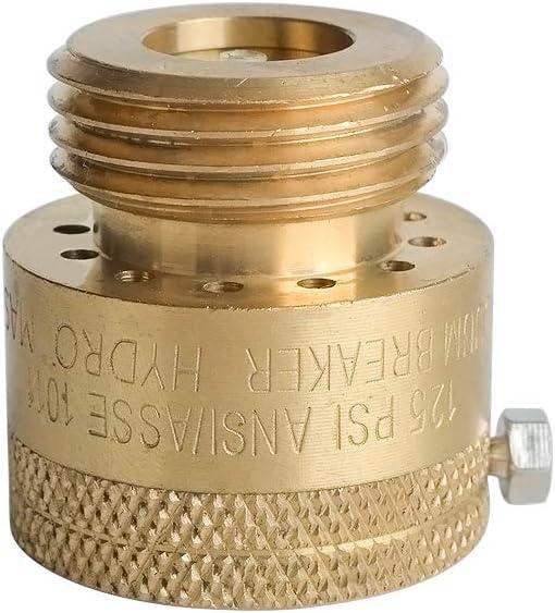 HYDRO MASTER 0741101 Vacuum Breaker Valve,3/4 Inch FNH x MNH Thread