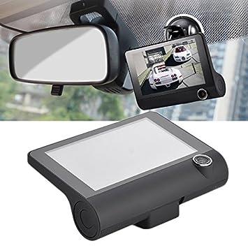 Grabadores de conducción de coche, modelo nuevo, 4 pulgadas, triple lente, DVR