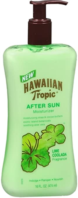Nice Hawaiian Tropic Lime Coolada After Sun Moisturizer 16 Oz New 2 Pack Excellent Quality Health & Beauty