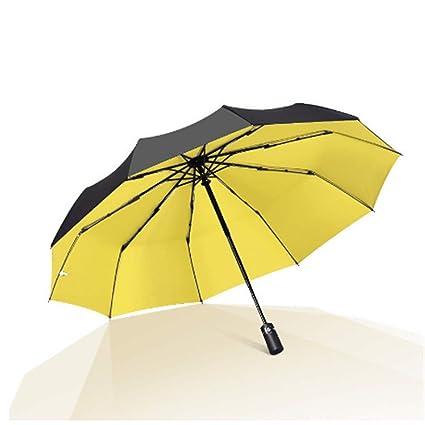 BBQBQ Paraguas Plegables Paraguas Lluvia y Lluvia de Doble ...