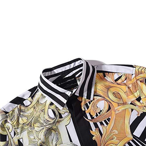Kj1 Camisa Impresión Exterior 3d Clasica Grasa Navysty Clásico Digital Top Patrón Calle Tetona Corta Manga Loose Casual 1qpadIwU
