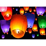 Nice Diagtree Square Chinese Lanterns Wishing Praying Floating River Paper Candle Light Floating Lanterns For Lake Or River Without Return Lights & Lighting