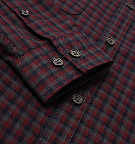 Luke 1977 Snips Lux Midnight Tartan Long Sleeve Shirt