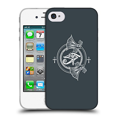 GoGoMobile Coque de Protection TPU Silicone Case pour // Q09940606 Religion 34 Arsenic // Apple iPhone 4 4S 4G