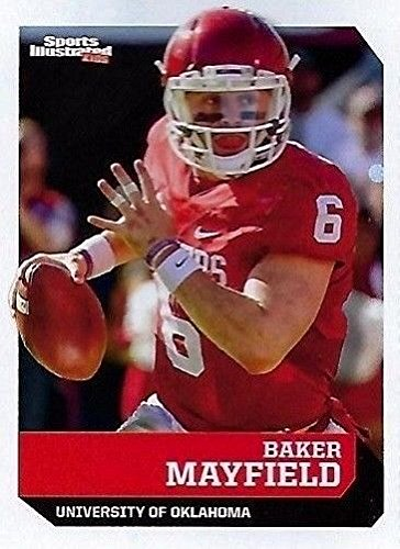 Sports Illustrated BAKER MAYFIELD 2017