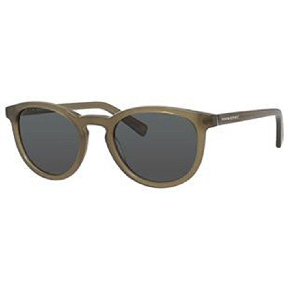 Banana Republic Men's Johnny Sunglasses, Black, Dark Gray Gradient, 51