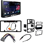 Metra 99-6516B Single/Double DIN Mounting Kit with OEM Bezel for 2005-07 Chrysler 300 Vehicles + Pioneer AVH-X490BS Double Din Bluetooth In-Dash DVD/CD Car Stereo Receiver with 6.2 Inch