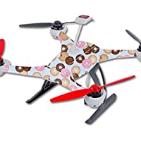Skin For Blade 350 QX3 Drone – Donut Binge | MightySkins Protective, Durable, and Unique Vinyl Decal wrap cover | Easy To Apply, Remove, and Change Styles | Made in the USA