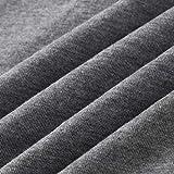 KANGMOON Women's Long Sleeve V-Neck Button Loose