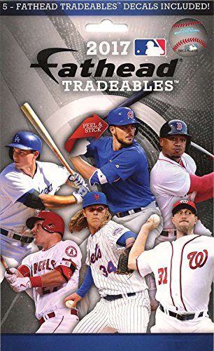 Used, MLB 2017 Fathead Tradeables 5-Pack for sale  Delivered anywhere in USA
