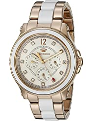 Juicy Couture Womens 1901303 Hollywood Analog Display Quartz Rose Gold Watch