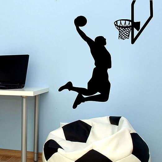 nkfrjz Vinilo removible Deportes Pegatinas de Pared MVP NBA ...