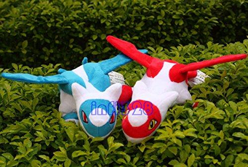 "Pokemon Plush Toys Lot Of Latios Latias Eon Duo 12"" Stuffed Animal New Dolls"