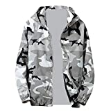 707f5a61472aa Amiley mens hoodies,Men's Fashion Camo Sport Hoodie Tops Full Zip Hooded  Sweatshirt Outwear Jacket