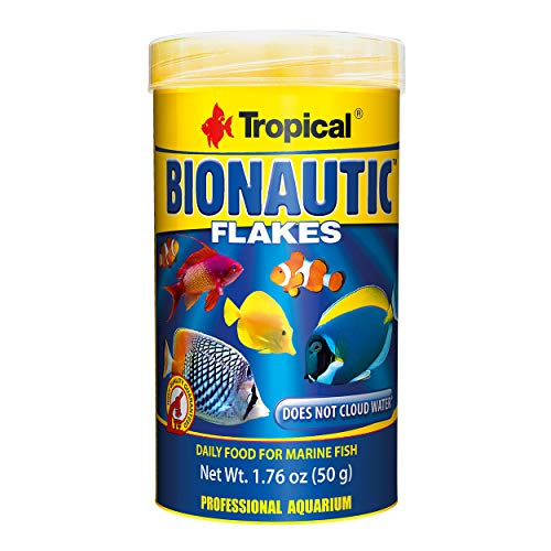 Tropical USA Bionautic Flakes Fish Food Tin, 50g