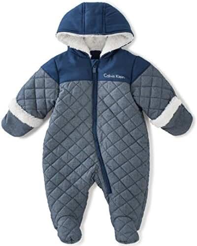 Calvin Klein Baby Boys' Pram With Sherpa
