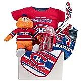 "Baby Gift Basket by Pellatt Cornucopia with Montreal Canadians ""Habs"" Baby Essentials"