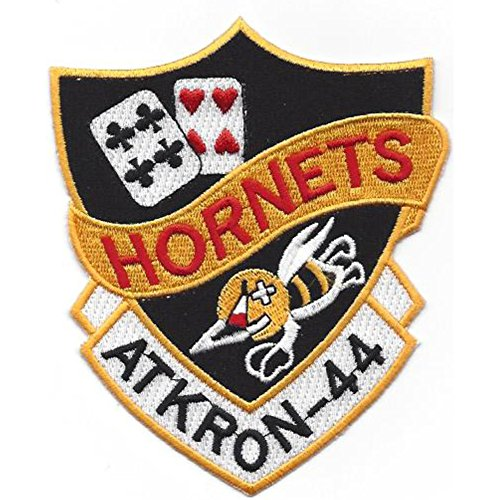 VA-44 Attack Squadron Forty Four Patch Hornets