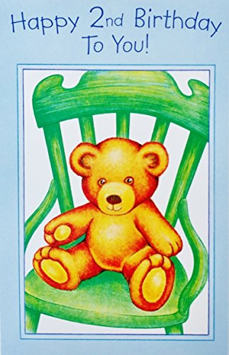 reeting Card w/Teddy Bear - 2 year old Second -You are so wonderful and very special ()
