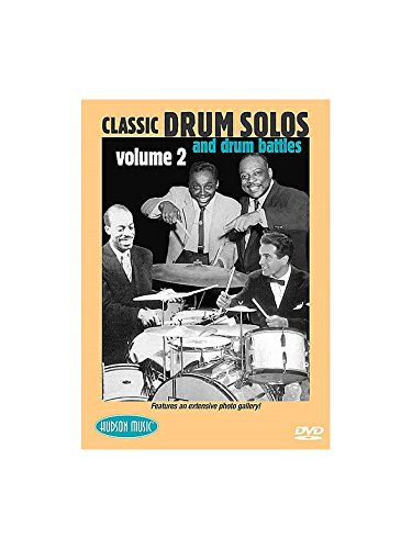Classic Drum Solos And Drum Battles Volume 2 DVD. Für Schlagzeug
