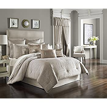 wilmington alabaster comforter set queen by j queen new york - J Queen New York Bedding