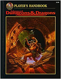 player 39 s handbook advanced dungeons dragons 2nd ed fantasy roleplaying david zeb cook. Black Bedroom Furniture Sets. Home Design Ideas