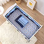 Wowelife-Blue-Crib-Bedding-Sets-Sea-Octopus-and-Whale-Baby-Crib-Sets-7-PieceBlue-7-Piece