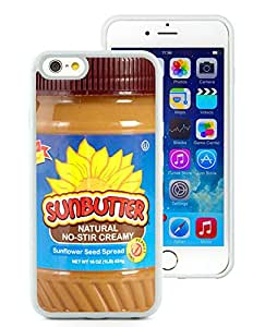 Sun Butter Natural Sunflower White iPhone 6 4.7 inch TPU Case Newest and Fashion Design