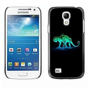 TopCaseStore / la caja del caucho duro de la cubierta de protección de la piel - Robot Mech Chameleon - Samsung Galaxy S4 Mini i9190 MINI VERSION!