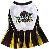 Pets First NBA Cleveland Cavaliers Cheerleader Dress - Medium
