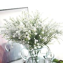 Compia Household Perfect Decor Artificial Babysbreath Gypsophila Floral Flower Fake Silk Wedding Party Bouquet