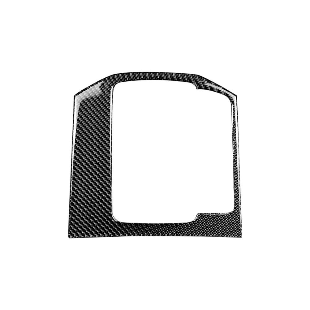 Vosarea Carbon Fiber Sticker Decorative Cover Trim Strip Car Control Gear Shift Panel for Mazda CX-5 2017-2018 (Black+Grey)