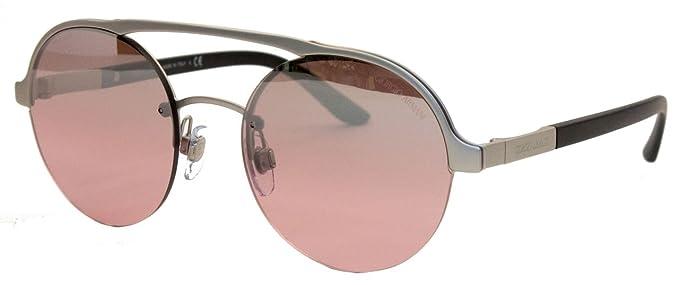 Armani 0AR6045 30367E, Gafas de Sol para Mujer, Plateado ...