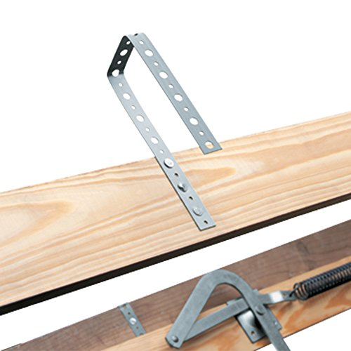 Louisville Ladder S254P 250-Pound Duty Rating Wooden Attic Ladder Fits 7-Foot to 8-Foot 9-Inch Ceiling Height, 25.5-to-54-Inch Rough Opening by Louisville Ladder (Image #2)